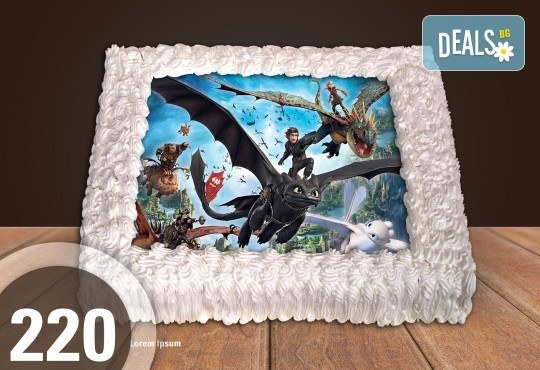 За момче! Торти за момчета: вземете голяма торта 20/ 25/ 30 парчета със снимка на герои от любимите детски филмчета - Нинджаго, Костенурките Нинджа, Спайдърмен и други от Сладкарница Джорджо Джани - Снимка 14
