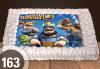 Голяма детска торта 20, 25 или 30 парчета със снимка на любим герой от Сладкарница Джорджо Джани - thumb 45
