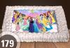 Голяма детска торта 20, 25 или 30 парчета със снимка на любим герой от Сладкарница Джорджо Джани - thumb 85