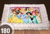 Голяма детска торта 20, 25 или 30 парчета със снимка на любим герой от Сладкарница Джорджо Джани - thumb 9