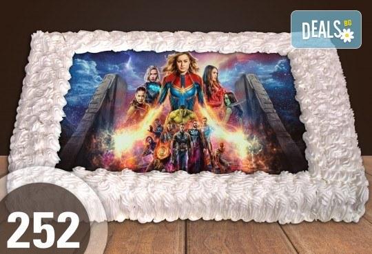 За най-малките! Голяма торта със снимка 20, 25 или 30 парчета за празника на Вашето дете с герой от филмче от Сладкарница Джорджо Джани - Снимка 47