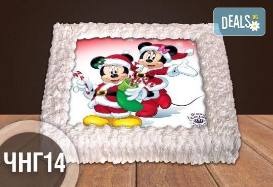 За Коледа и Нова година! Голяма торта 20, 25 или 30 парчета със снимка от Сладкарница Джорджо Джани - Снимка 13
