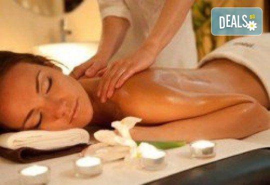 Здрав гръб и здраво тяло! Болкоуспокояващ и загряващ лечебен масаж на гръб в център Beauty and Relax, Варна - Снимка 1