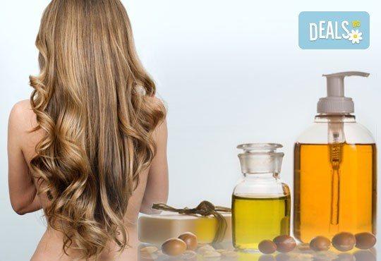 Подстригване или полиране на косата, фотон терапия или UV преса за всеки тип коса плюс подсушаване - Снимка 2