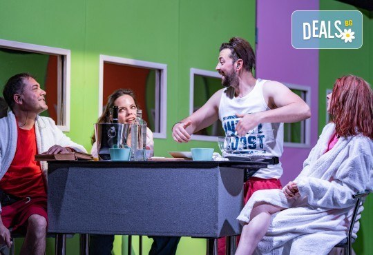 Комедия на 23.10. (събота) Очите на милиони театрална постановка - реалити шоу в Малък градски театър Зад канала - Снимка 5
