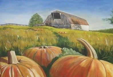Незабравимо 3-часово творческо преживяване! Студио за рисуване и вино Art and Wine. На 22 октомври от 18:30ч - на тема Есенно настроение - Снимка