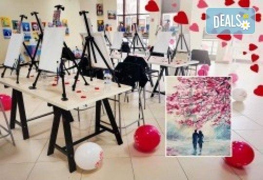 Незабравимо 3-часово творческо преживяване! Студио за рисуване и вино Art and Wine. На 22 октомври от 18:30ч - на тема Есенно настроение - Снимка 7