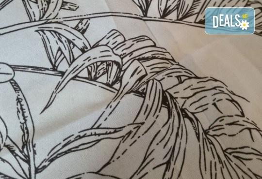 Комплект спално бельо Палми от 100% памук от Spalnoto Belio - Снимка 2