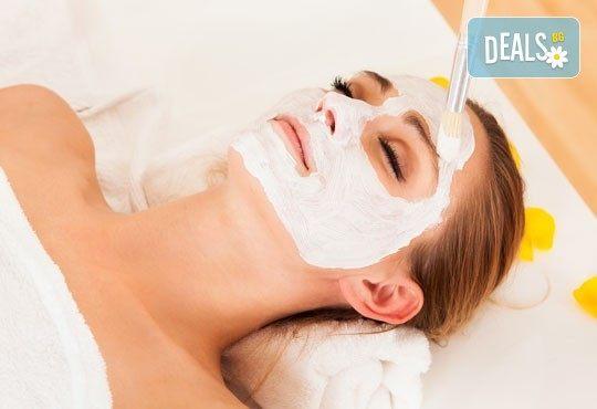 Мануално почистване на лице, маска според типа кожа, козметичен масаж, дарсонвал и нанасяне на крем в Салон за красота АБ - Снимка 2