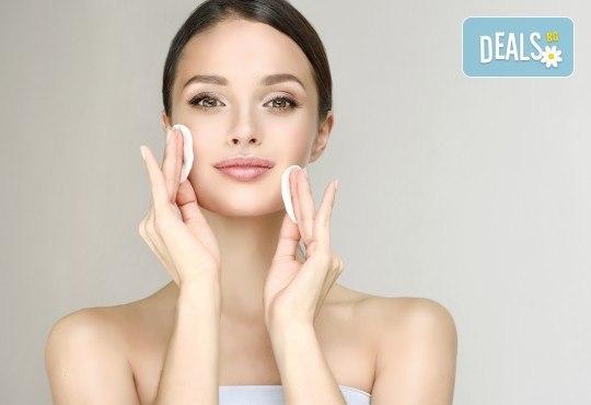 Мануално почистване на лице, маска според типа кожа, козметичен масаж, дарсонвал и нанасяне на крем в Салон за красота АБ - Снимка 3