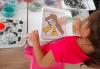 Оцветяване на детски картини с пясък (за възраст от 3 г. до 10 г.), до 8 деца в група в Детски център ДЕТЕгледане - thumb 4