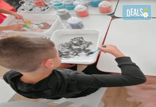 Оцветяване на детски картини с пясък (за възраст от 3 г. до 10 г.), до 8 деца в група в Детски център ДЕТЕгледане - Снимка 7