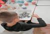 Оцветяване на детски картини с пясък (за възраст от 3 г. до 10 г.), до 8 деца в група в Детски център ДЕТЕгледане - thumb 7
