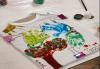 Рисуване върху тениска/боди с ръце (за възраст от 10 месеца до 8 г.), до 8 деца в група в Детски център ДЕТЕгледане - thumb 2