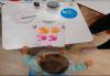 Рисуване върху тениска/боди с ръце (за възраст от 10 месеца до 8 г.), до 8 деца в група в Детски център ДЕТЕгледане - thumb 3