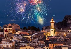 Посрещнете Нова година 2022 на о. Корфу, Гърция! 3 нощувки със закуски и вечери, празнична вечеря в хотел Olympion village 3* с България Травъл! - Снимка