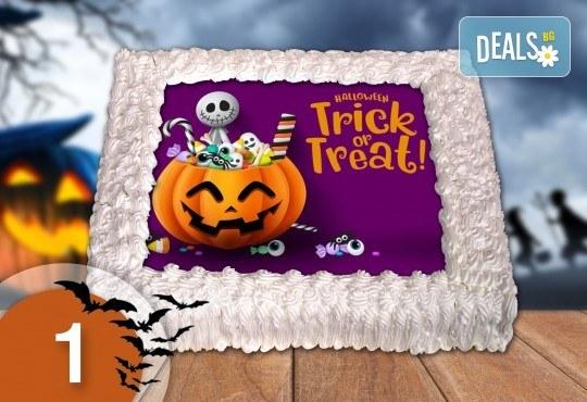 Торта за Halloween с: 8, 12, 16, 20, 25, 30 парчета от Джорджо Джани
