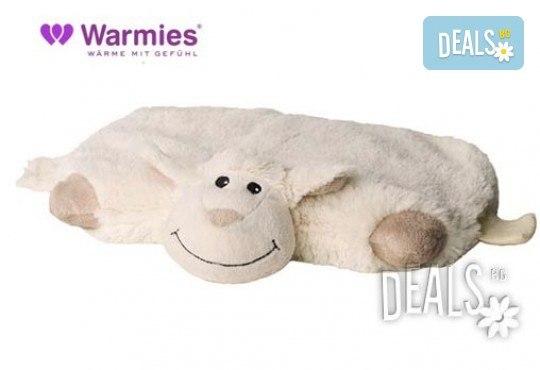 Плюшена нагряваща се и охлаждаща се възглавница овца от Warmies - Снимка 2