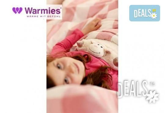 Плюшена нагряваща се и охлаждаща се възглавница овца от Warmies - Снимка 1