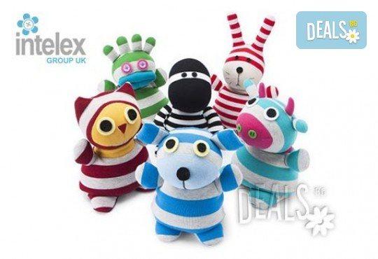 Нагряващ се Мистър Хуутъл Socky Dolls Mr Hootle от Intelex - Снимка 2
