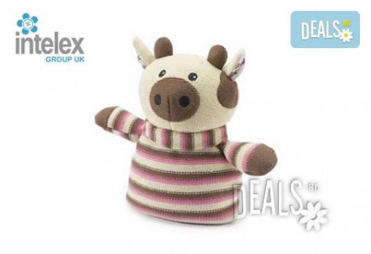 Плетена нагряваща се Плетена Крава Knitted Warmer Cow от Intelex - Снимка 1