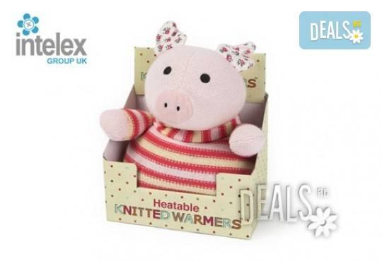 Нагряващо се Плетено Прасе Knitted Warmer Pig от Intelex - Снимка 3