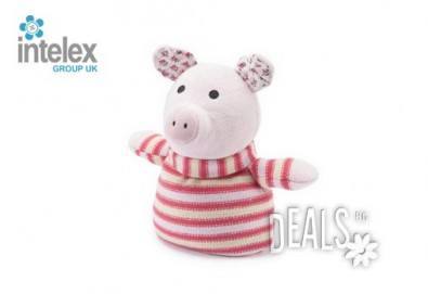 Нагряващо се Плетено Прасе Knitted Warmer Pig от Intelex - Снимка