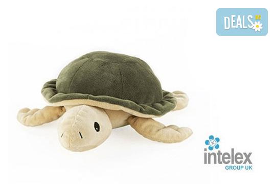 Плюшена нагряваща се Костенурка Cozy Plush Turtle от Intelex - Снимка 1