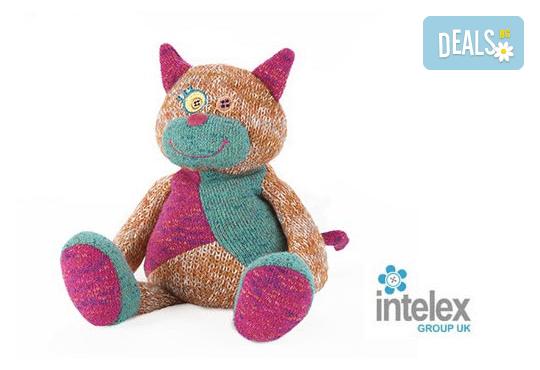 Плюшена нагряваща се Котка Warmies Cat от Intelex - Снимка 1