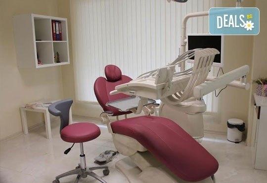 Обстоен преглед, почистване на зъбен камък и плака с ултразвук и полиране в ПримаДент Д-р Анита Ангелова! - Снимка 3