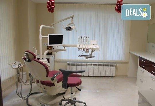 Обстоен преглед, почистване на зъбен камък и плака с ултразвук и полиране в ПримаДент Д-р Анита Ангелова! - Снимка 4