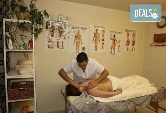Отново пълноценни! 70-минутен лечебен масаж при плексит от професионален кинезитерапевт в студио Samadhi! - Снимка 5