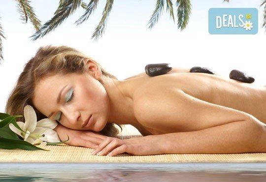 Отдайте се на релакс с едночасов масаж с топли вулканични камъни на цяло тяло в център Beauty&Relax, Варна! - Снимка 1