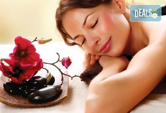 Отдайте се на релакс с едночасов масаж с топли вулканични камъни на цяло тяло в център Beauty&Relax, Варна! - Снимка 2