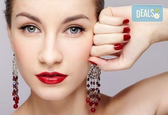 Украсете ноктите си с бляскавите цветове на Bluesky и 2 декораци в салон Лаура стайл! - Снимка 4