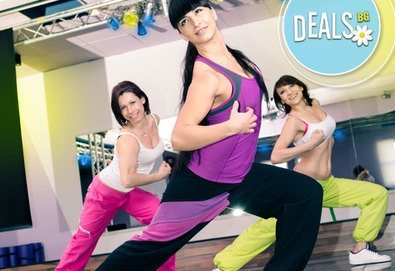 Раздвижете се и се забавлявайте! 5 посещения на занимания по зумба в зала Dance It, Студентски град!