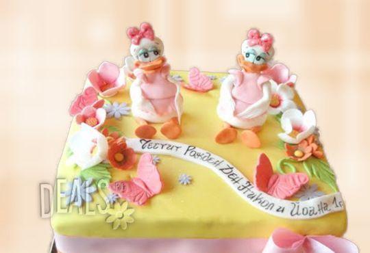 За най-малките! Детска торта с Мечо Пух, Смърфовете, Спондж Боб и други герои от Сладкарница Джорджо Джани - Снимка 35