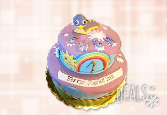 За най-малките! Детска торта с Мечо Пух, Смърфовете, Спондж Боб и други герои от Сладкарница Джорджо Джани - Снимка 41