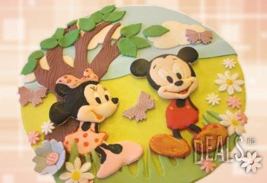 За най-малките! Детска торта с Мечо Пух, Смърфовете, Спондж Боб и други герои от Сладкарница Джорджо Джани - Снимка 7