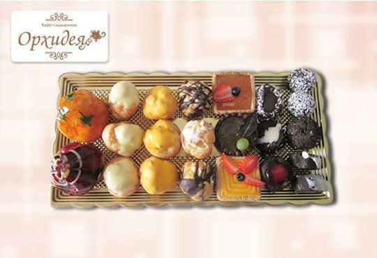 Сладък Микс за ценители! Над 40 броя шоколадови изкушения - еклери, пралини и петифури от Сладкарница Орхидея - Снимка 2