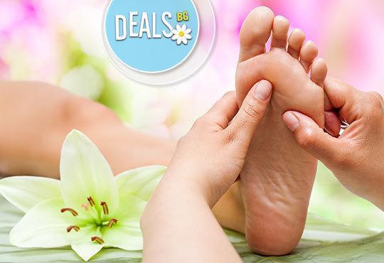Заредете сетивата си! 60мин. Балийски масаж на цяло тяло и рефлексотерапия на стъпала в Център за масажи Шоколад - Снимка 4