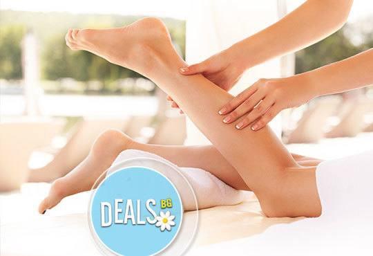 60мин. болкоуспокояващ, арома или класически масаж с жасмин, ирис, алое и рефлексотерапия в Център за масажи Шоколад - Снимка 3