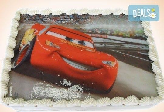 Детски торти МЕЧТА! Торти с фотодекорация - Ну погоди, Мечо Пух, Макуин или с Ваша снимка от Сладкарница Орхидея - Снимка 2