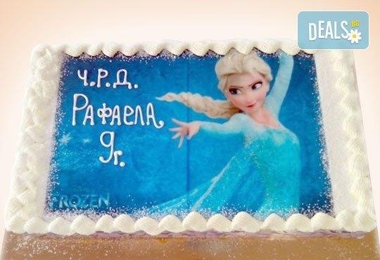 Детски торти МЕЧТА! Торти с фотодекорация - Ну погоди, Мечо Пух, Макуин или с Ваша снимка от Сладкарница Орхидея - Снимка 3
