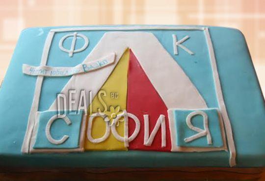 Фирмена торта ИЛИ Бутикова АРТ торта - според поръчания дизайн от Сладкарница Джорджо Джани - Снимка 11