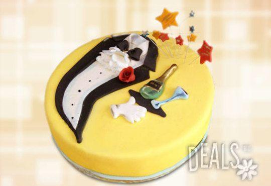 Фирмена торта ИЛИ Бутикова АРТ торта - според поръчания дизайн от Сладкарница Джорджо Джани - Снимка 28