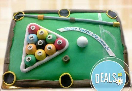 Фирмена торта ИЛИ Бутикова АРТ торта - според поръчания дизайн от Сладкарница Джорджо Джани - Снимка 1