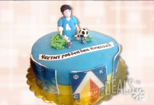 Фирмена торта ИЛИ Бутикова АРТ торта - според поръчания дизайн от Сладкарница Джорджо Джани - Снимка 5