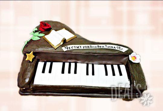 Фирмена торта ИЛИ Бутикова АРТ торта - според поръчания дизайн от Сладкарница Джорджо Джани - Снимка 24