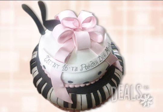 Фирмена торта ИЛИ Бутикова АРТ торта - според поръчания дизайн от Сладкарница Джорджо Джани - Снимка 25